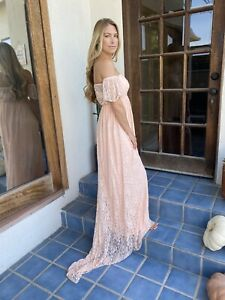Lace Sexy Long Maternity Dresses For Sale Ebay