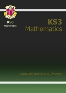 KS3 Maths Complete Study & Practice: Complete Revision and Practice-CGP Books
