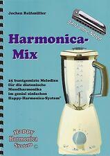 Harmonica-juego cuaderno sin notas: harmonica-Mix-para Bluesharp
