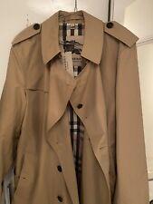 Burberry Prorsum Heritage Trench Coat Uk Size 40/42 /BNWT PlusPack Colour Honey