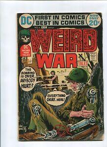 WEIRD WAR TALES #6 (4.5) 1972 PAWNS