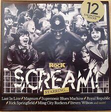 Classic Rock Magazine Scream CD (CD) Magnum, Steven Wilson, Rick Springfield