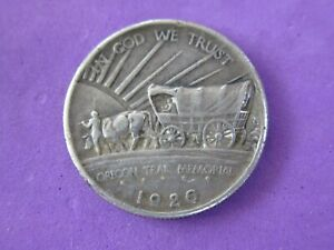 1926 Oregon Trail Half Dollar US Silver 50C Commemorative 1926-P