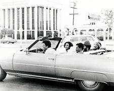 BOB MARLEY 8X10 PHOTO IN CONVERTIBLE CAR