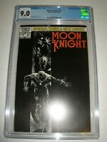 Marvel Comics Moon Knight # 25 CGC 9.0 1st app Black Spectre