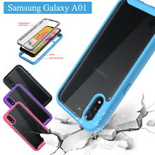 For Samsung Galaxy A01 A11 A71 5G A21 A51 5G Case With Built-in Screen Protector