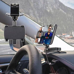 In Car Dash Mobile Phone Holder Mount Dashboard Universal iPhone Rotating 360