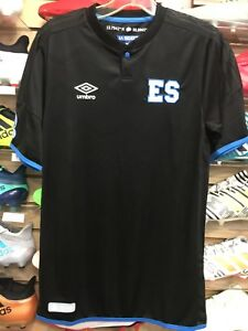 Umbro El Salvador Away Jersey Black Size Small Only