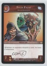 2007 VS System DC Legends Booster Pack Base #DCL-118 Felix Faust Gaming Card 3v2