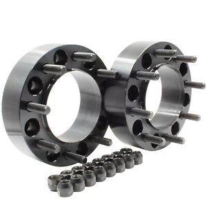 """Wheel Adapter Spacers Fit 2003-2008 Ford F-250 F350 Super Duty Hub Centric 2"""""""