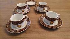 "RARE Set of 4 Casa Elite ""Home Collections"" Espresso/Demitasse Coffee Cups"
