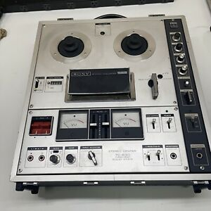 Sony TC-630 D Reel-to-Reel Tape Recorder - UNTESTED AS IS # 099