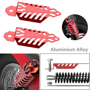 Aluminium Alloy Protect Fork Dust Shock Absorber Spring Covers For Motorcycles
