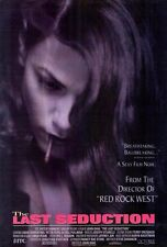 THE LAST SEDUCTION Movie POSTER 27x40 B Linda Fiorentino Peter Berg J.T. Walsh