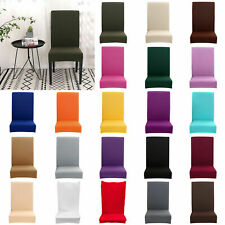6pcs Chair Cover Strechable Dining Banquet Hotel Party Universal Slipcover Decor