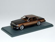 Cadillac seville mk1 Mark 1 élégant 1976 Marron Brown/or met. Neo 43497 1:43