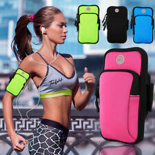 Universal Sports Running Arm Band Holder Bag Pouch For iPhone XS Max XR X 8 7 6S