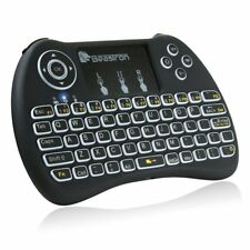 Beastron Mini Wireless Keyboard with Mouse Touchpad Rechargeable Combo Backlit