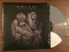 Of Mice And Men Cold World Grey/clear/bone Color Vinyl Ltd/2000 Memphis May Fire