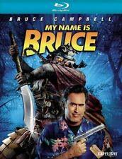 MY NAME IS BRUCE - Blu Ray Disc.