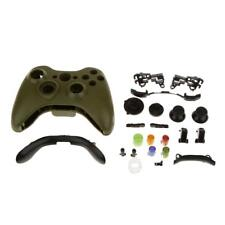 Wireless Controller Cover Case Shell Housing Buttons for XBOX 360 Army Green