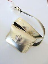 Gürtel Tasche CANDIES M gold Hüft Buckle Clutch Pouch Disco bag silber krone