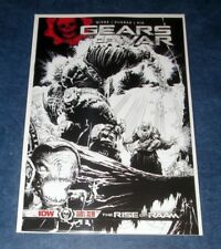 GEARS OF WAR RISE OF RAAM #1 sketch variant B/W 2nd print IDW COMIC 2018 RARE NM