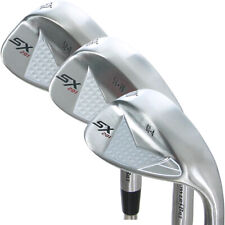 PowerBilt Golf SX-201 3-Piece Wedge Set: 52*(GW), 56*(SW), 60*(LW) Steel Shafts