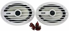 "Pair MB Quart NKF692 6x9"" 260w 2-Way Nautic Series Pair Of Marine Boat Speakers"
