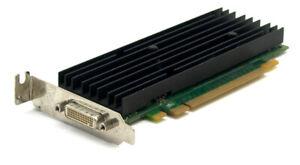 HP / Nvidia Quadro NVS 290 P538 256MB DDR2 PCI-E x16 Graphics Card