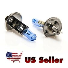 Halogen Bulbs - H1 12v 55W 5000K Auto Headlight (Pair), Super White, US Seller