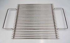 B-Ware / Edelstahl Grillrost 34 x 34 cm ! Stababstand nur 10 mm ! Trichtergrill