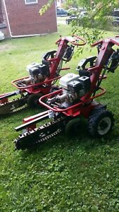 BARRETO  712-MT SELF PROPELLED  HYDRAULIC  TRENCHER... FREE SHIPPING