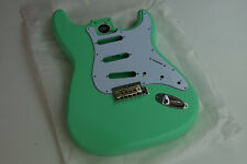 Voodoo Vibe Strat Stratocaster Guitar BODY Ash Surf Green NITRO Matte 230