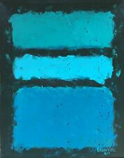 NEW LARGE CONTEMPORARY ORIGINAL MODERN ABSTRACT CANVAS PAINTING ART Dan Byl 4x5'