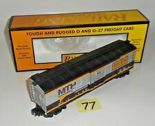 MINT 30-7423 MTH RAIL KING O / 027 MTH CLUB BOX CAR ORIGINAL BOX 77