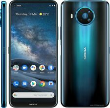 "Nokia 8.3 5G Dark Blue 6.81"" 128GB 64MP+12MP+2MP+2MP Octa-core Phone CN FREESHIP"