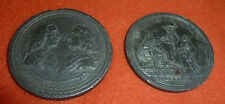 USA 2 Medaillen von 1783 Unabhängigkeit der 13 Vereinigten Staaten 1783