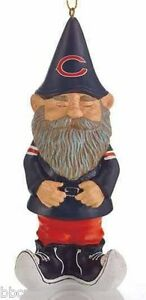 NEW NFL CHICAGO BEARS Gnome Christmas Ornament Christmas Tree Decoration