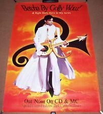 "PRINCE STUNNING RARE LARGE U.K. PROMO POSTER ""BETCHA BY GOLLY WOW"" SINGLE 1996"