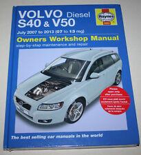 Reparaturanleitung Volvo S40 + V50 Diesel (ab Modellpflege), Baujahre 2007- 2013