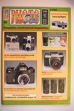 PHOTO DEAL Photodeal Heft 25 2/1999 vergriffen, Voigtländer Bessa L, Flexaret