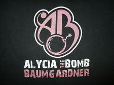 ALYCIA DA BOMB BAUMGARDNER T SHIRT Female Professional Boxing Boxer Adult LARGE