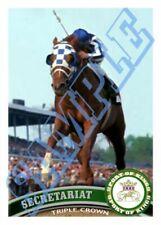 ACEO Secretariat Horse Racing Triple Crown 2011 Style #/25