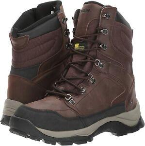 Mens Hunting Boots NORTHSIDE Raptor 800 WATERPROOF INSULATED Dark Brown Leather