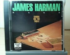 James Harman Band - Cards On The Table Promo CD ~ 1994 Black Top ~ Used like-new
