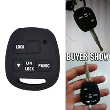 3 Buttons Silicone Remote Key Fob Cover Case Fit Toyota Lexus Gx470 Rx350 Es300