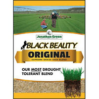 Jonathan Green 10317 Black Beauty Blend Grass Seed, 15 lb, 4500 Sq.Ft.