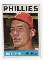 1964 Topps Bobby Wine #347 Baseball Card