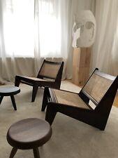 Pierre Jeanneret Kangaroo Chair Set Candigarh Mid Century Le Corbusier India